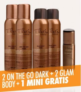 2 On the Go - Dark + 2 Glam Body + 1 Mini On the Go - Dark