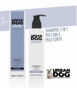 SHORT - Shampoo 2 in 1 per cani nutriente Urban Dog