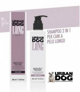 LONG - Shampoo 2 in 1 per cani sbrogliante Urban Dog