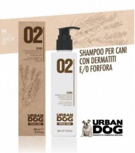 02 DERMO - Shampoo per dermatiti forfora e desquamazioni Urban Dog