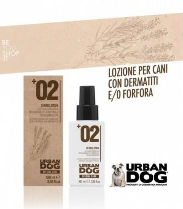 +02 DERMOLOTION - Lozione per dermatiti forfora e desquamazioni Urban Dog